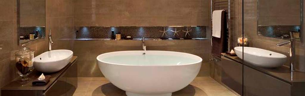 Ideas para ba os peque os con ducha pintores bilbao - Ideas para mamparas de ducha ...